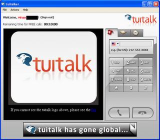 tuitalker calling