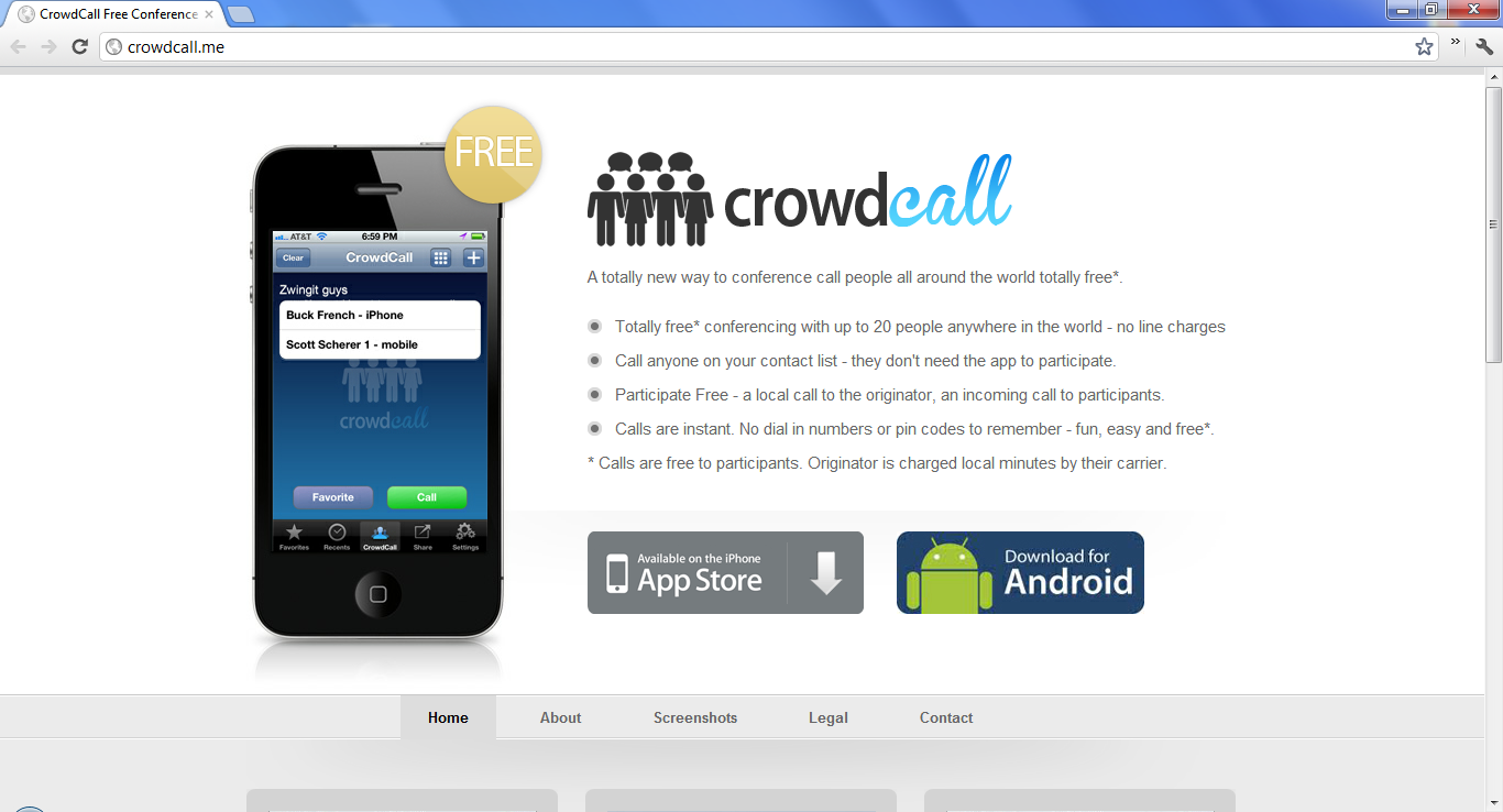 Cheap calls with CrowdCall for Android - Free Phone Call